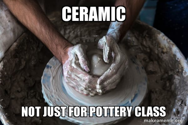 ceramic not just for pottery class