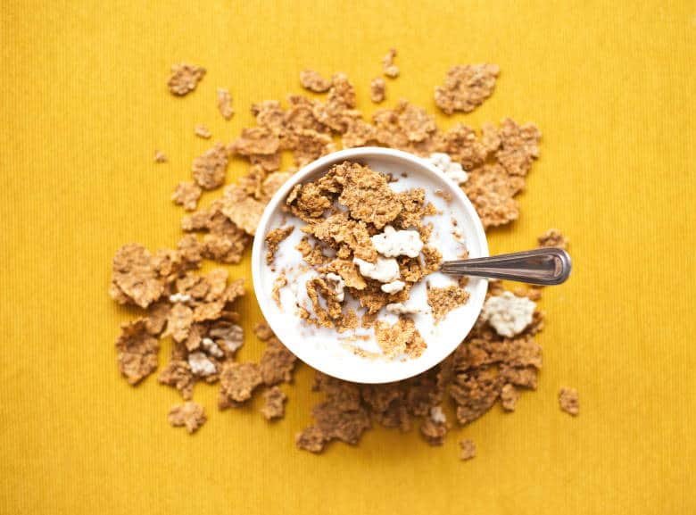fortified cereal zinc