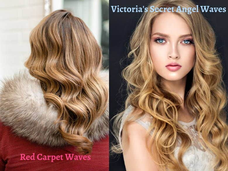 red carpet and vs angel waves